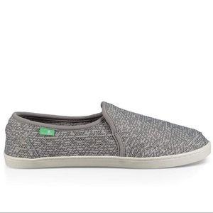 Sanuk Pair O Dice Knit Slip-on Sneakers
